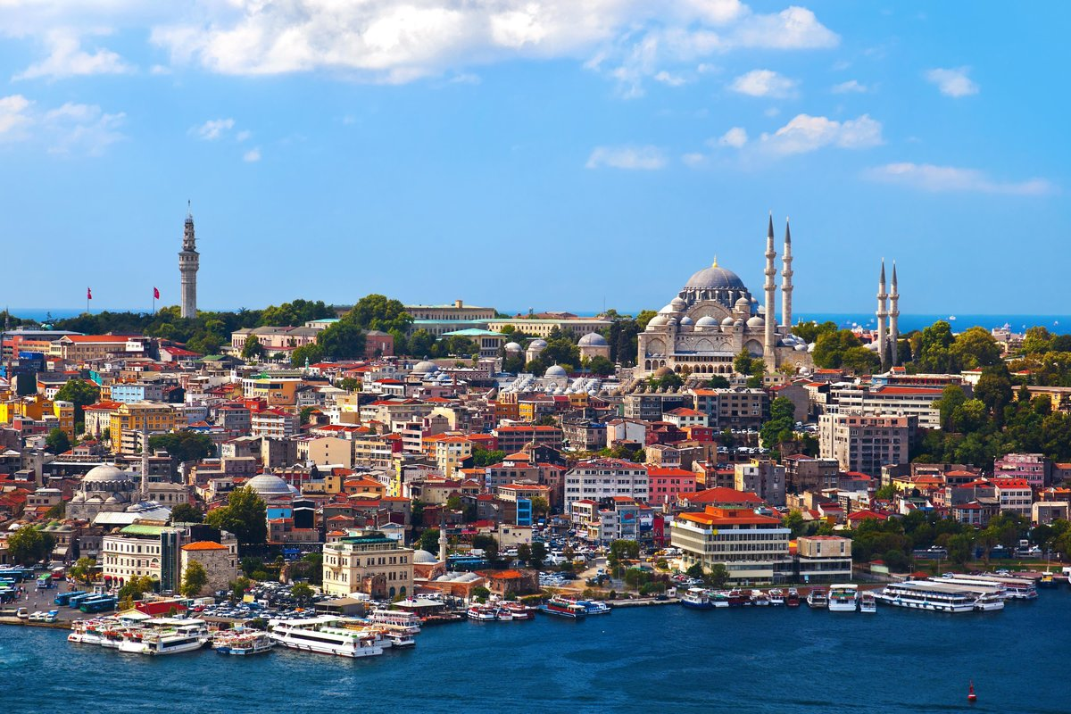 Фото Стамбула в Турции