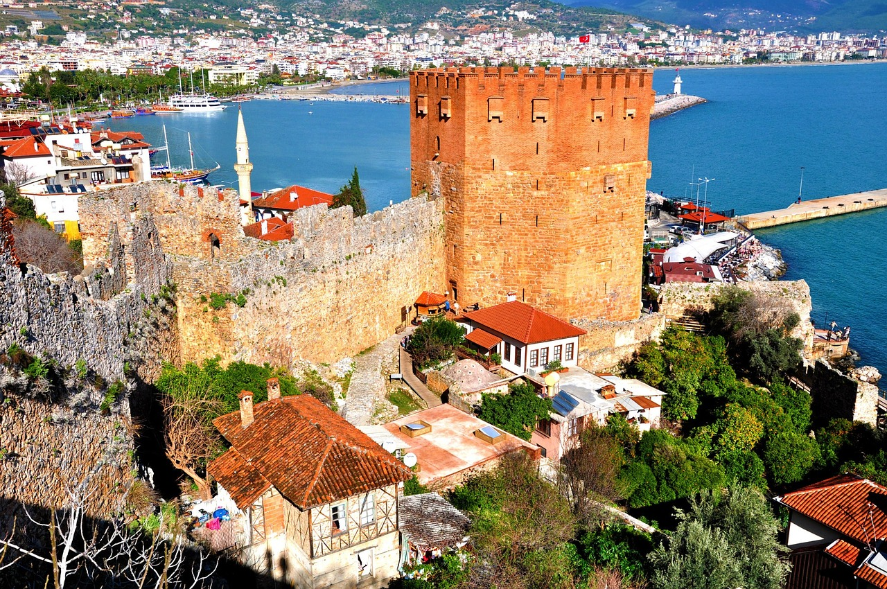 Фото крепости Анталье