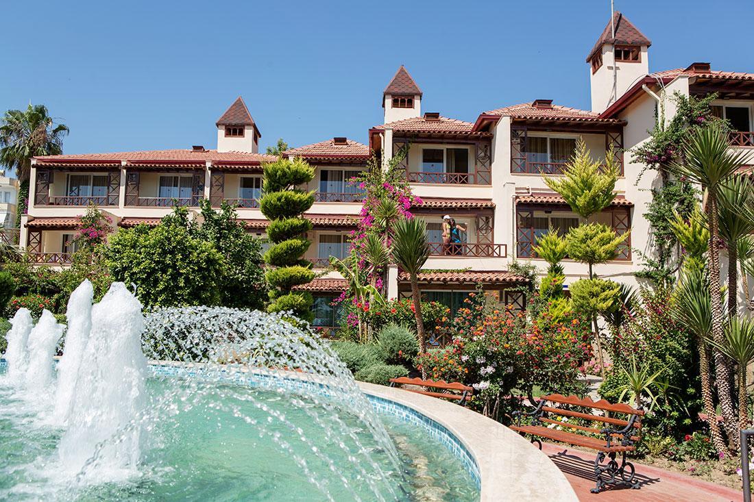 Фото Saphir Hotel 4* в Алании
