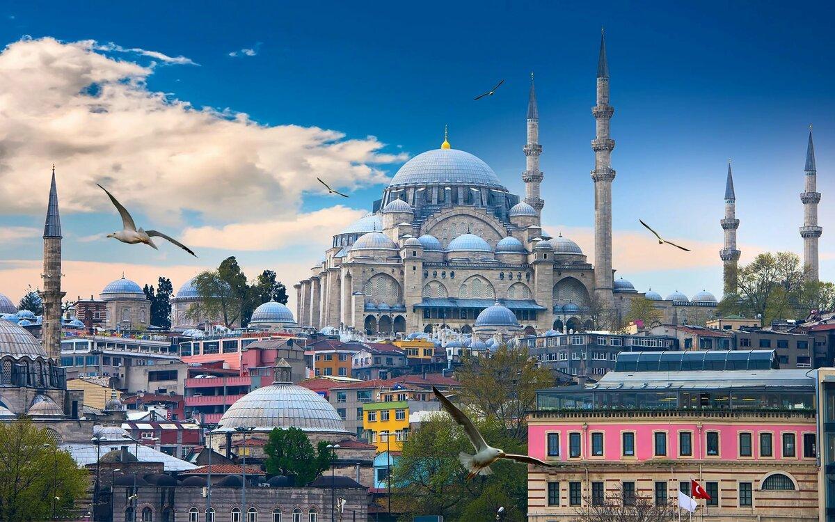 Фото мечети в Стамбуле