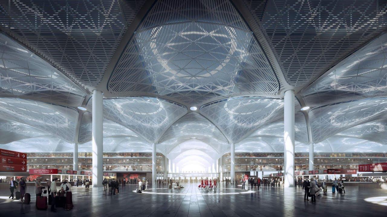 Новый аэропорт Стамбула (IST): обзор