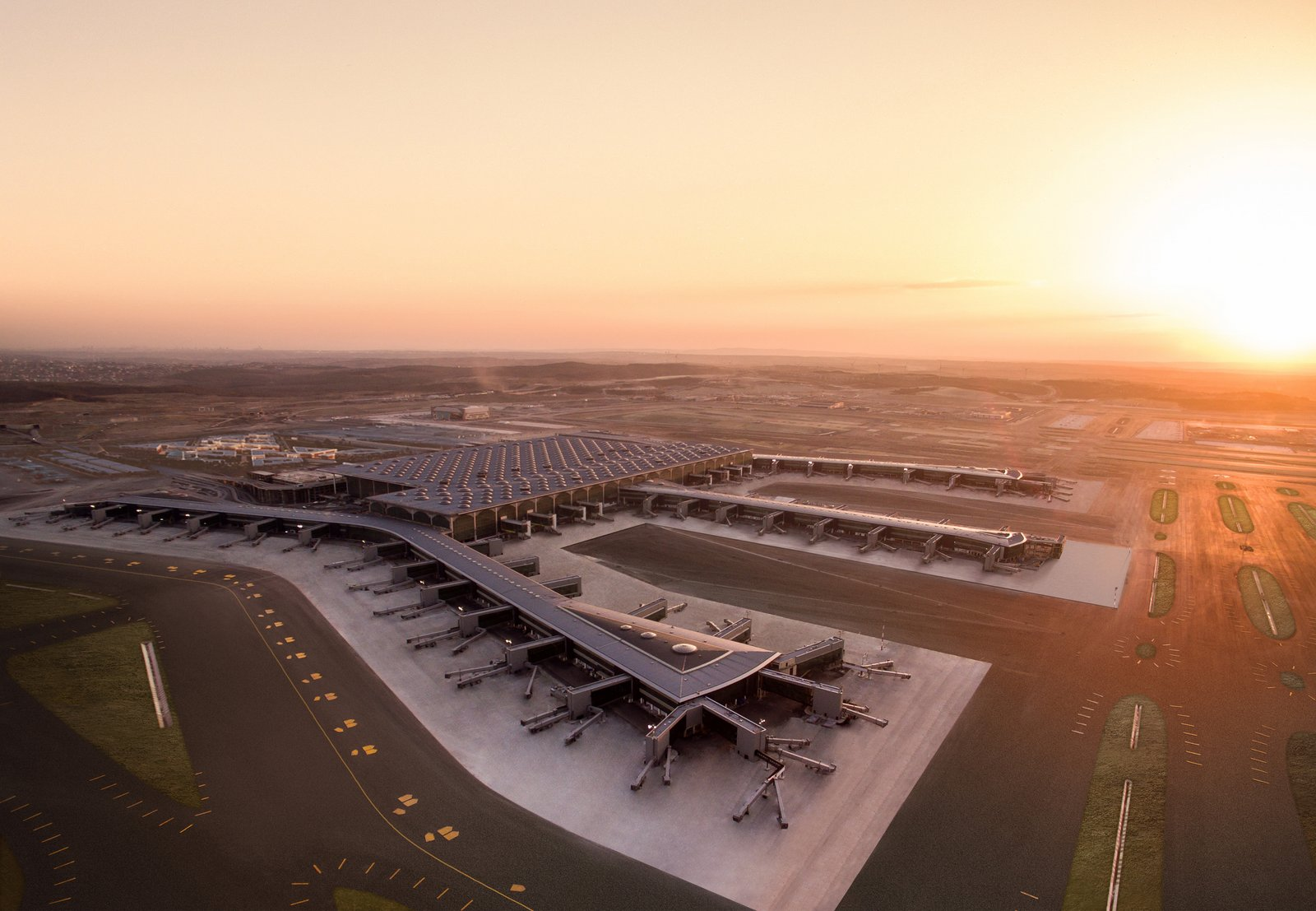 Фото аэропорта в Стамбуле