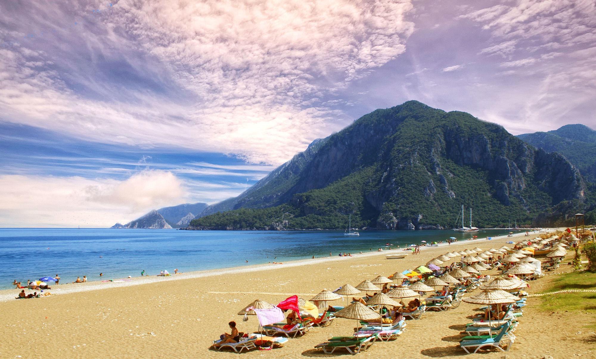 для кахвалти пляж чиралы турция фото очень приятно