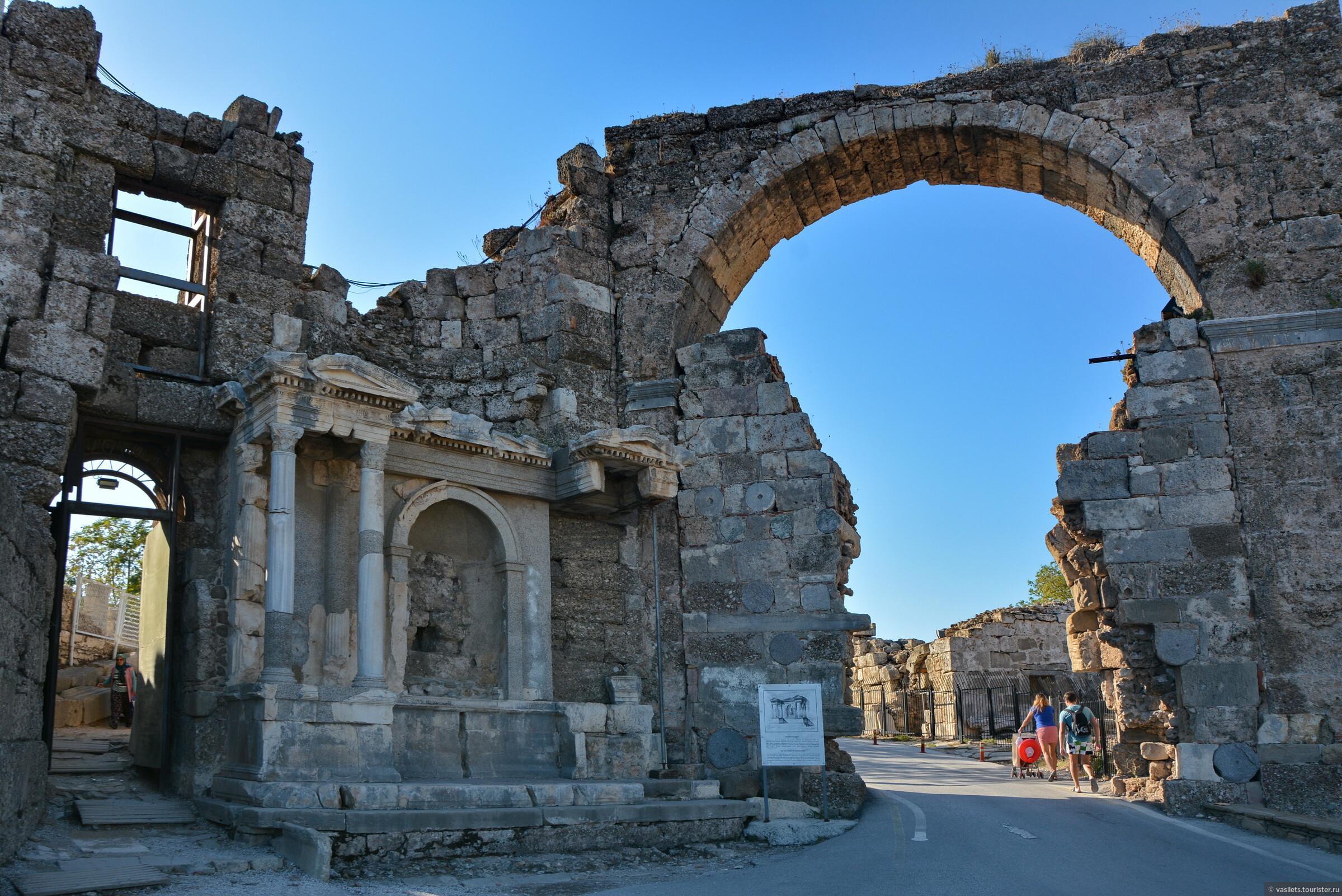 Сиде в Турции: где находится, развлечения, погода и экскурсии