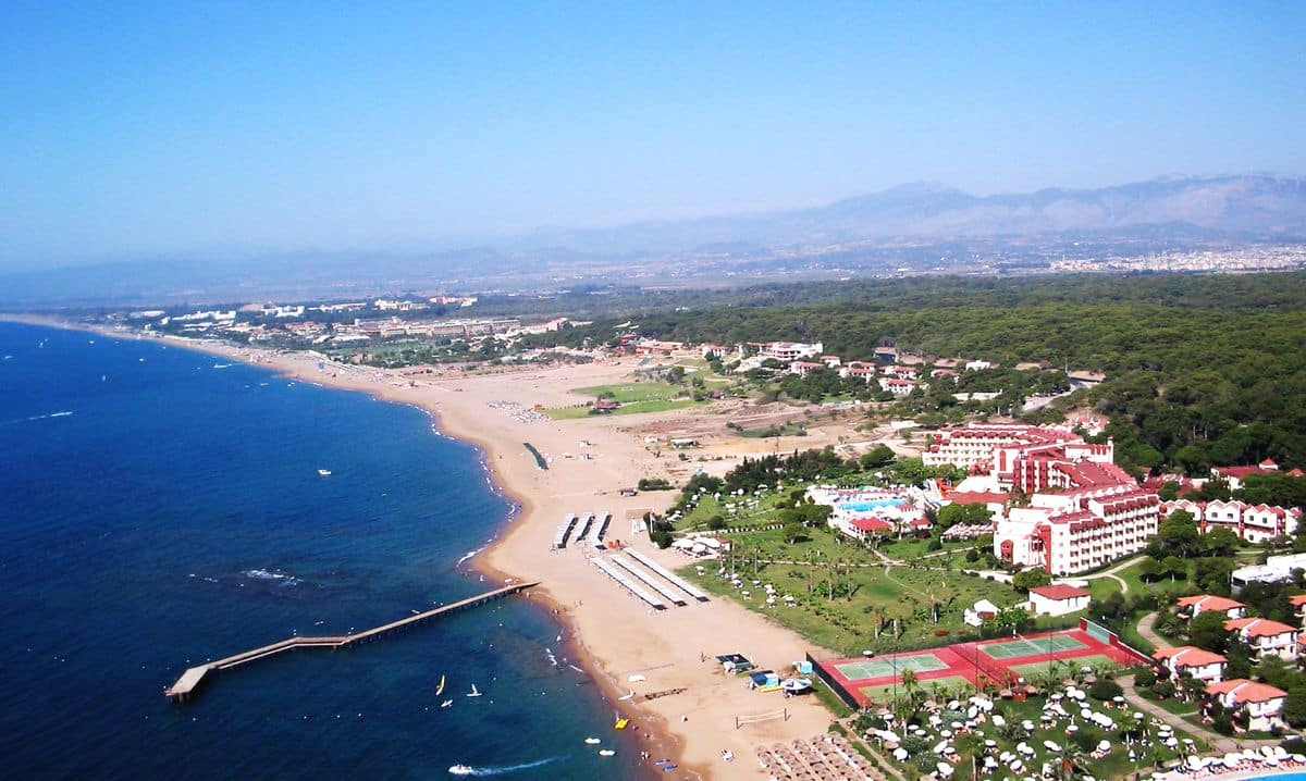Фото побережья Сиде