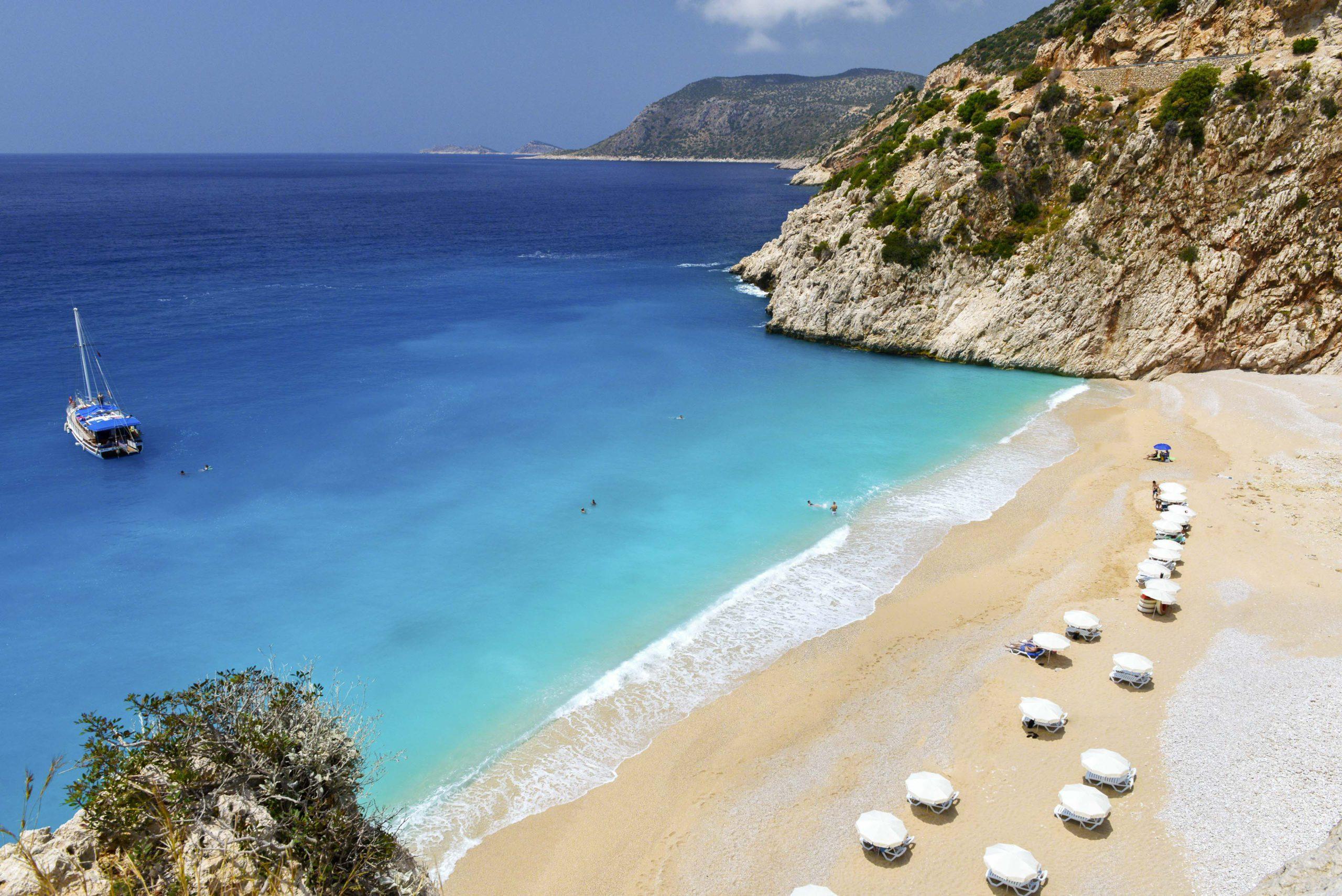 Фото пляжа в Анталии