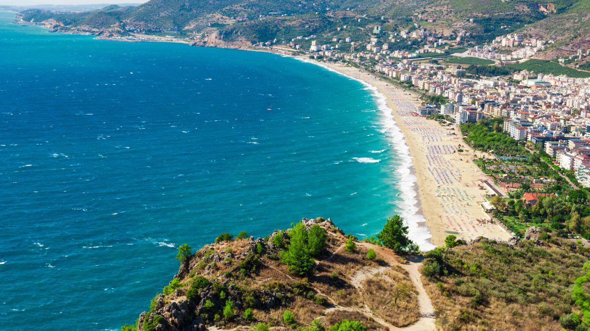 Фото пляжа в Алании