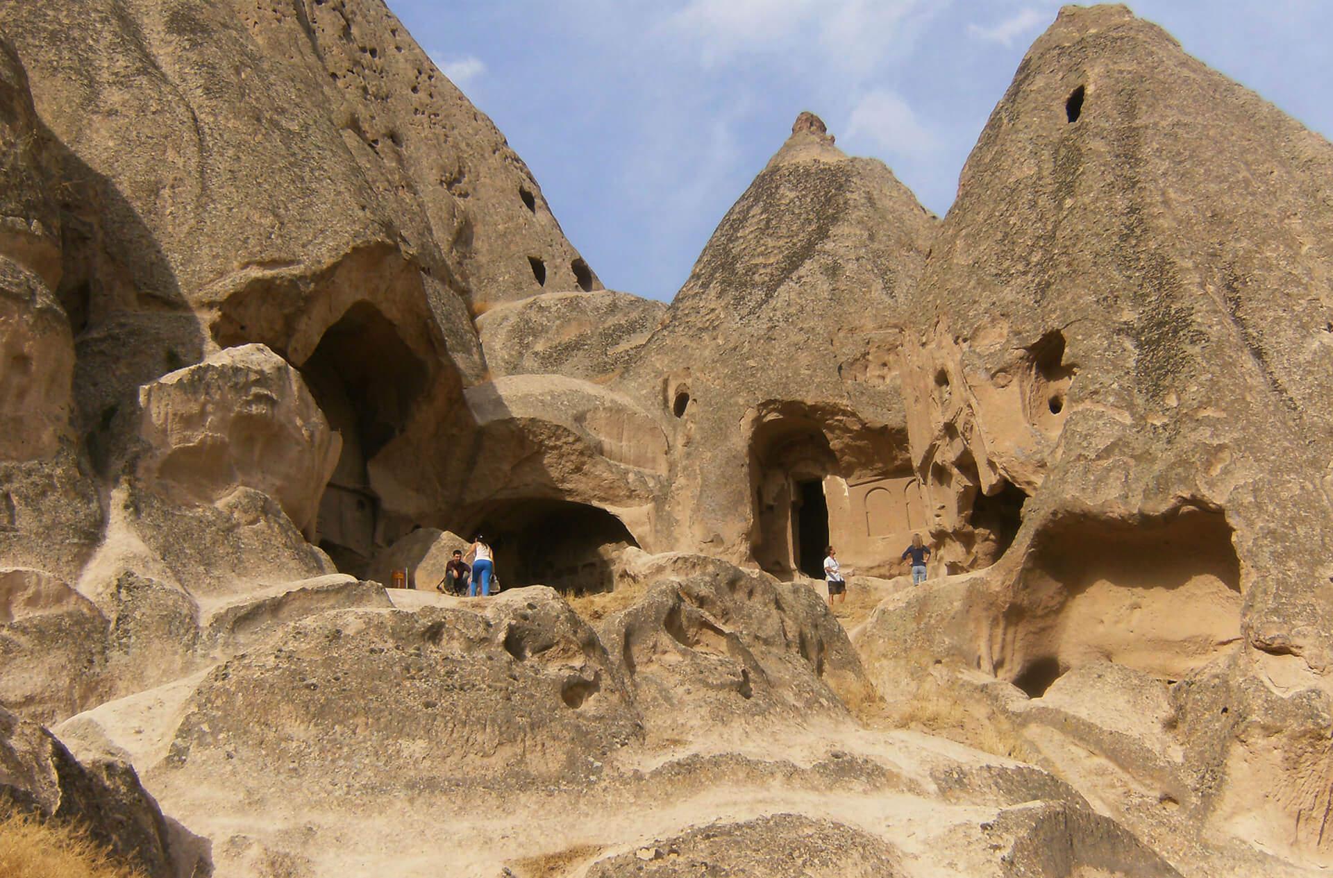 Фото монастырей Каппадокии