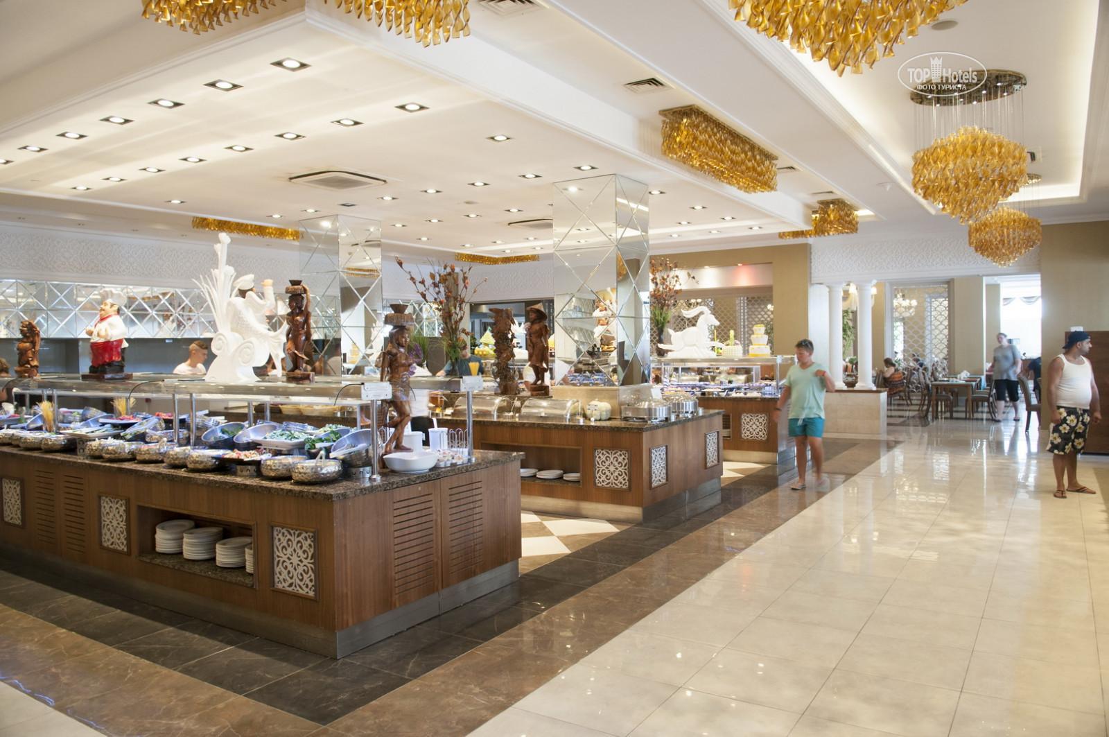 Фото столовой в отеле Side Crown