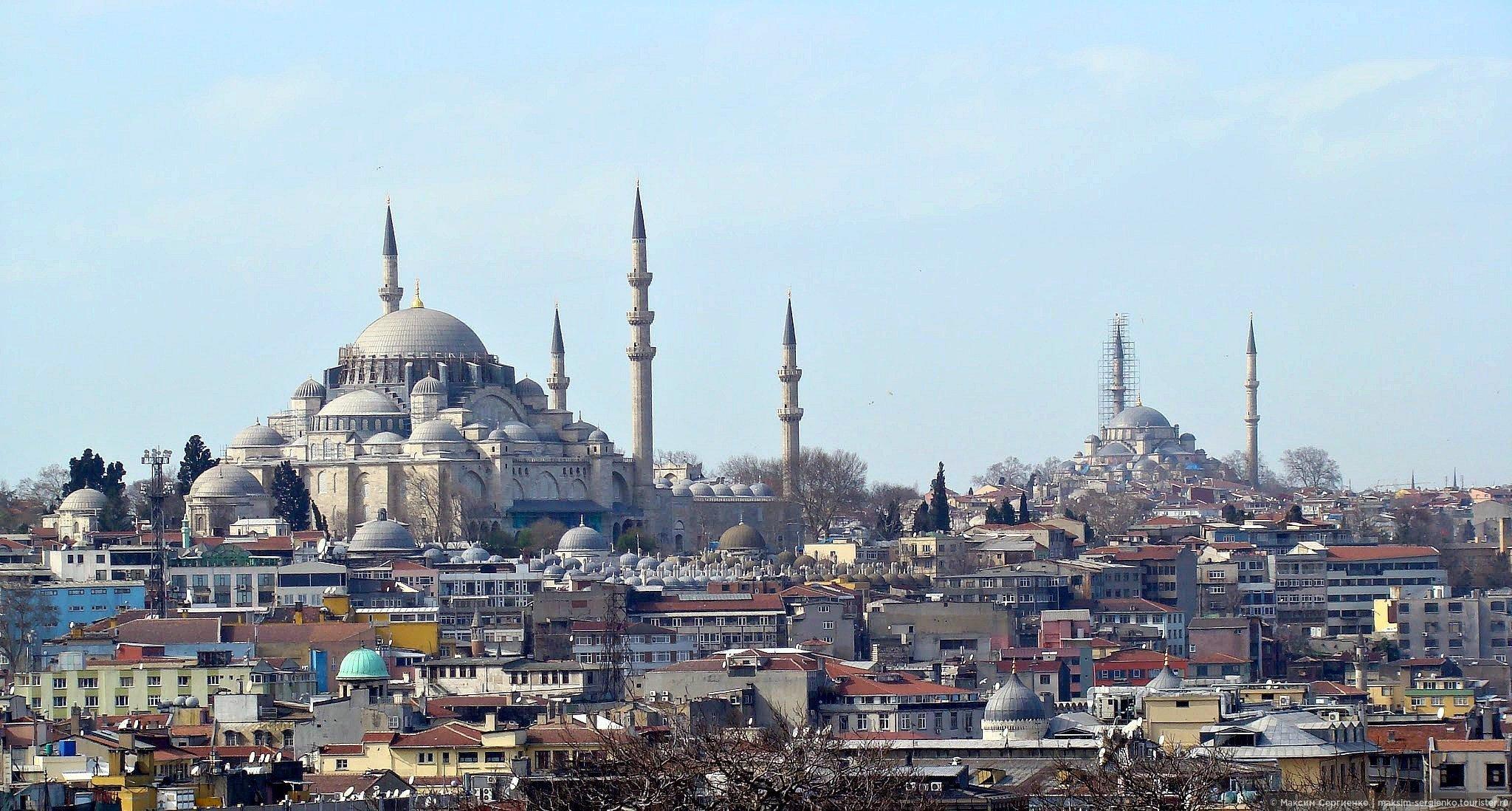Февральская погода в Стамбуле