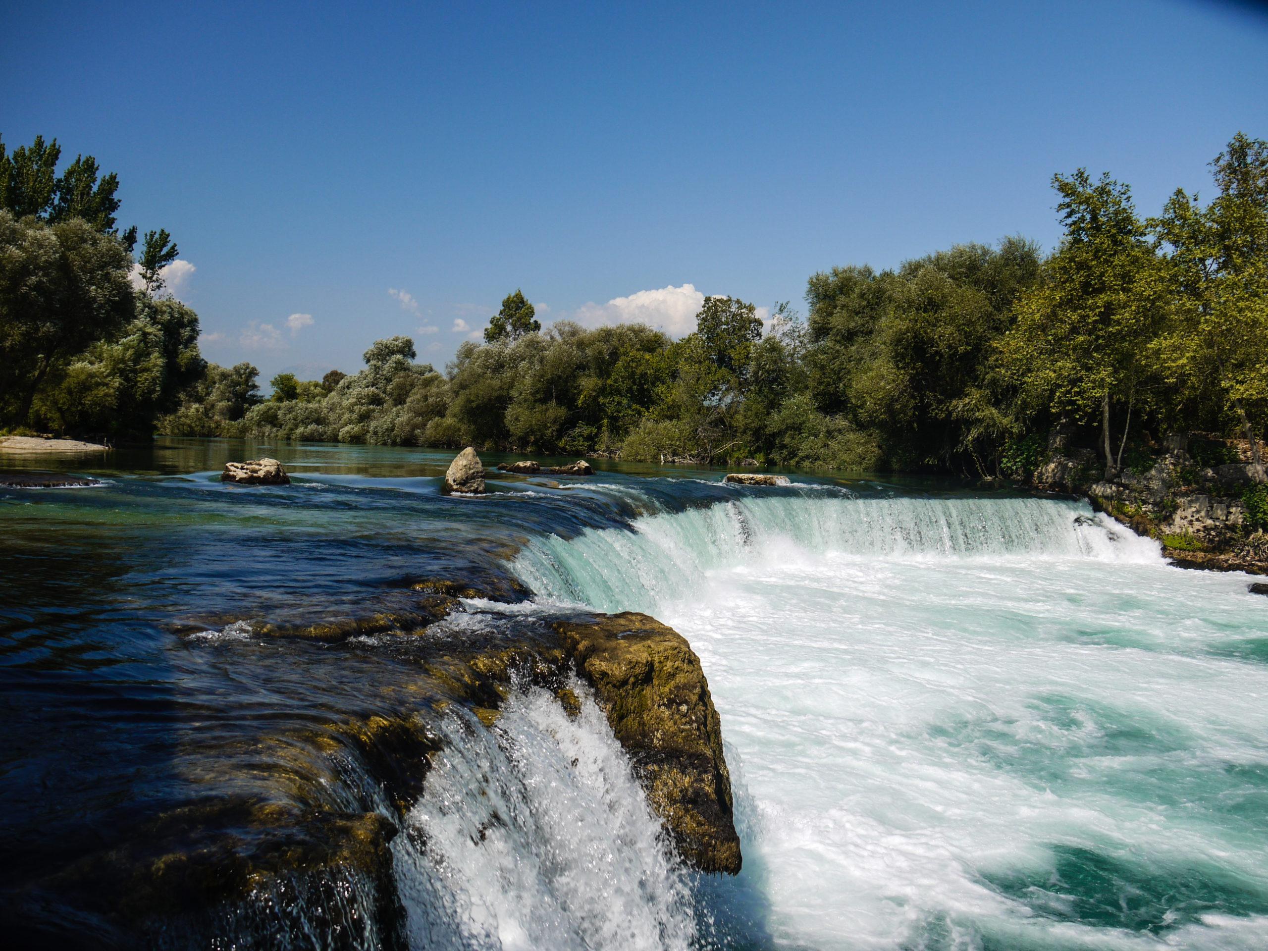 Фото водопада Манавгат