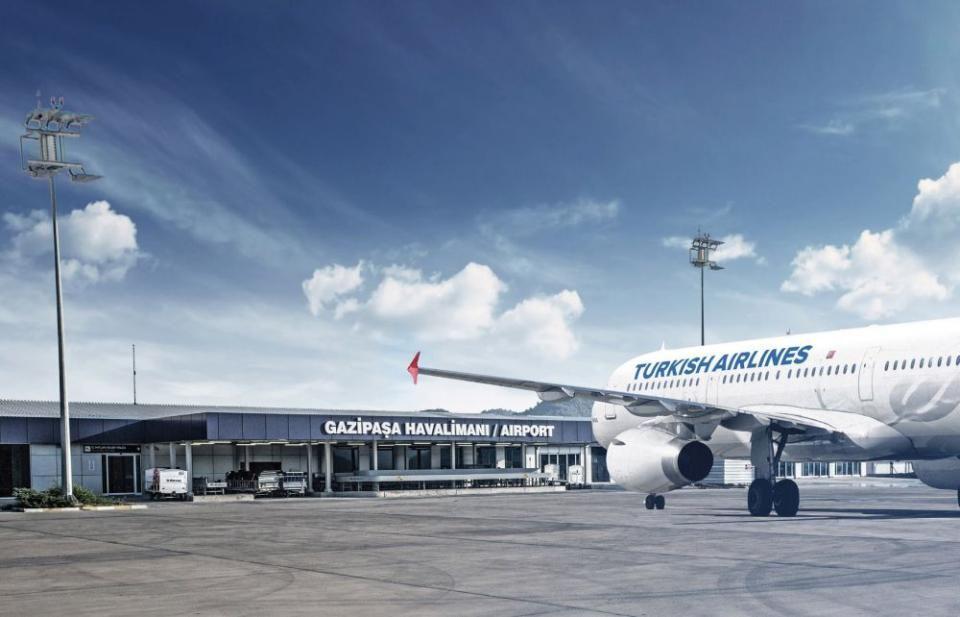 Фото аэропорта в Алании