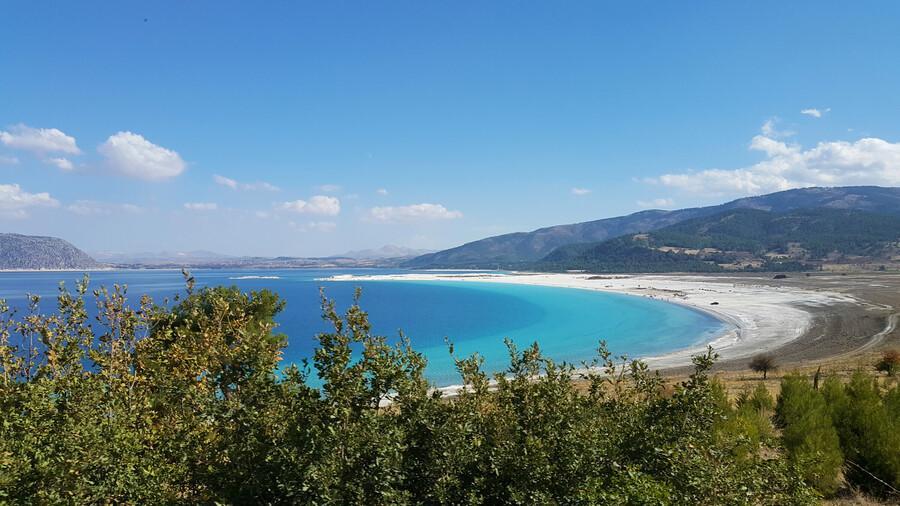 Озеро Салда в Турции