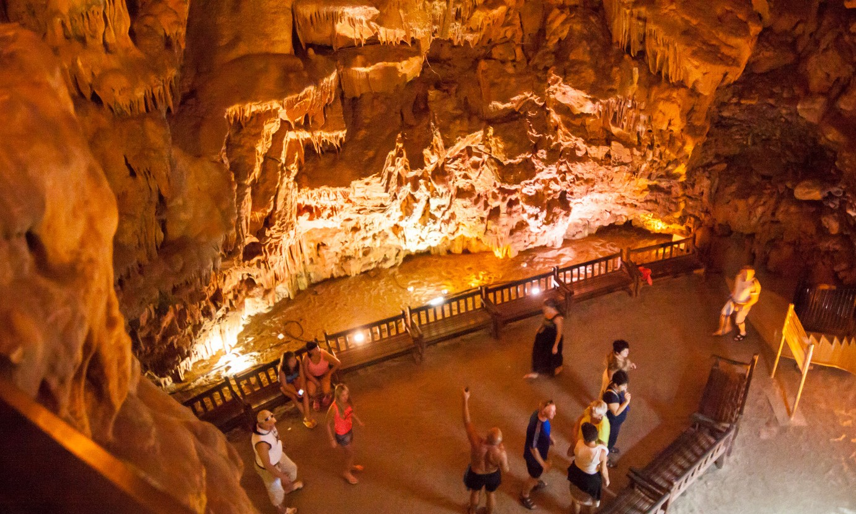 Фото пещеры Дамлаташ