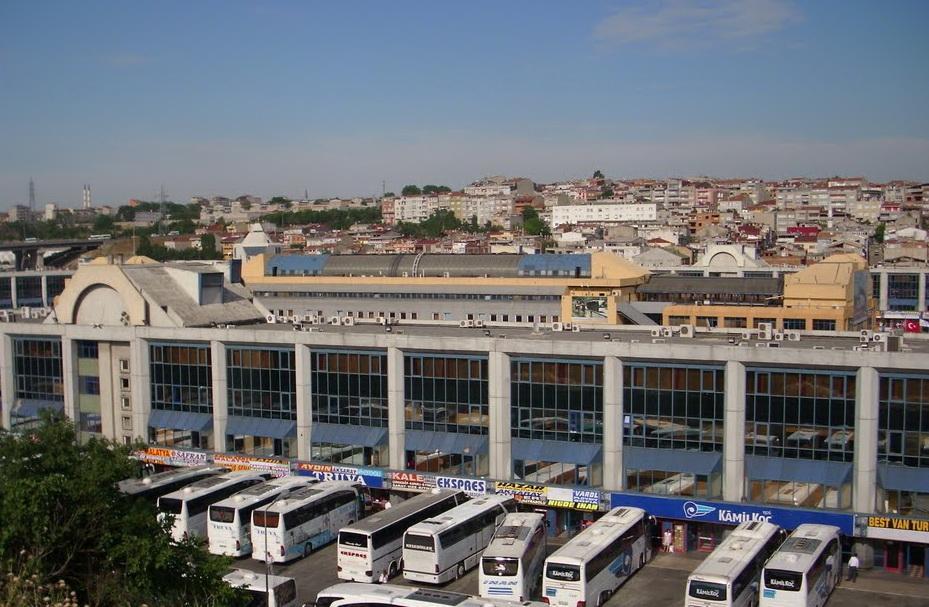 Фото вокзала Байрампаша