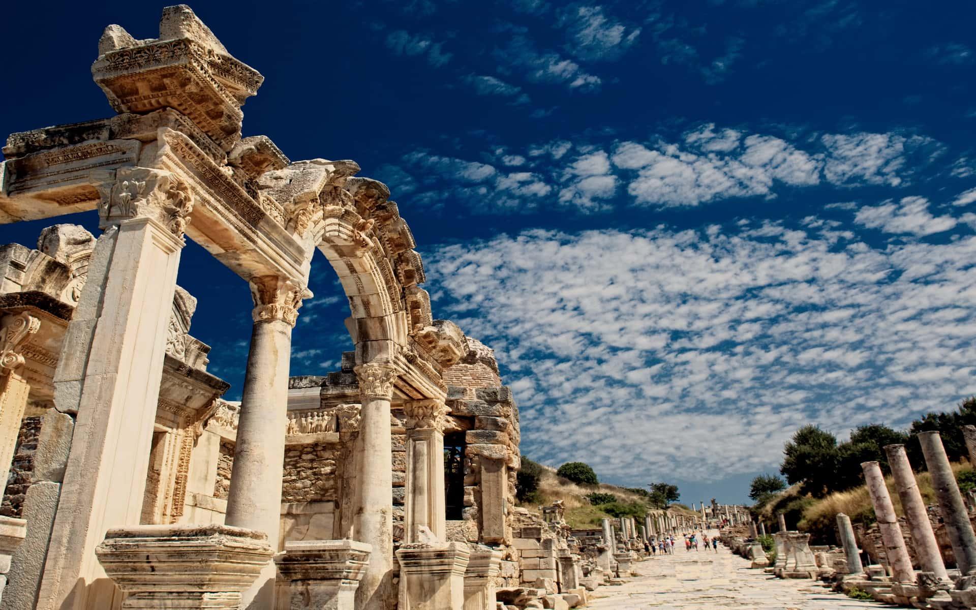 Фото древнего города