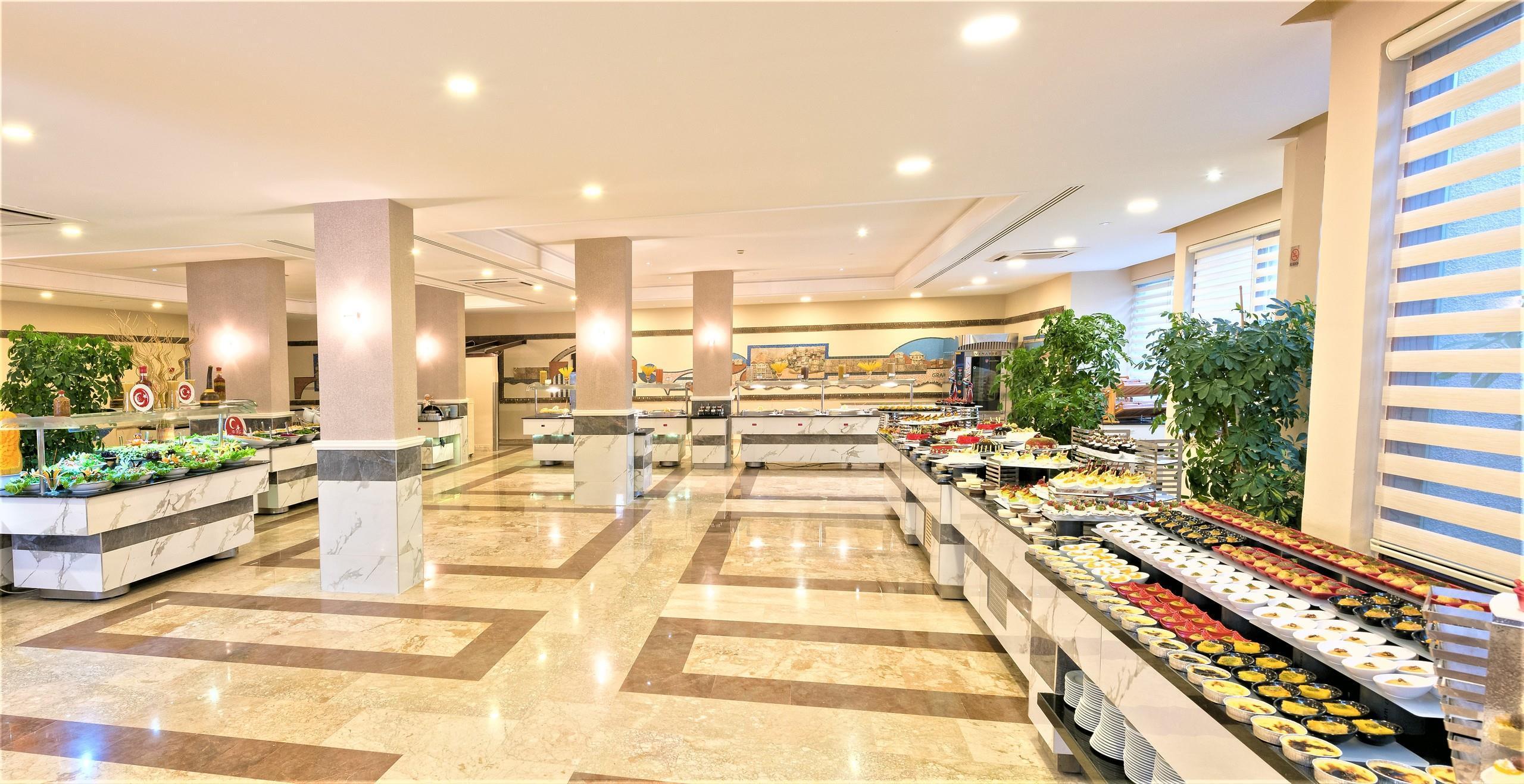 Фото еды в Justiniano Club Park Conti 5*