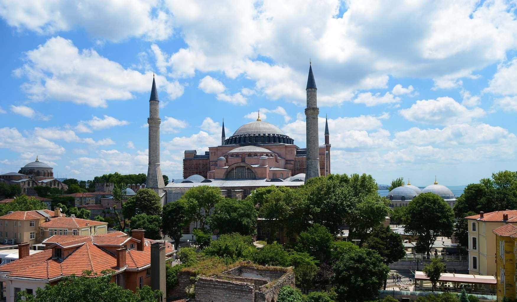 Фото мечети в районе