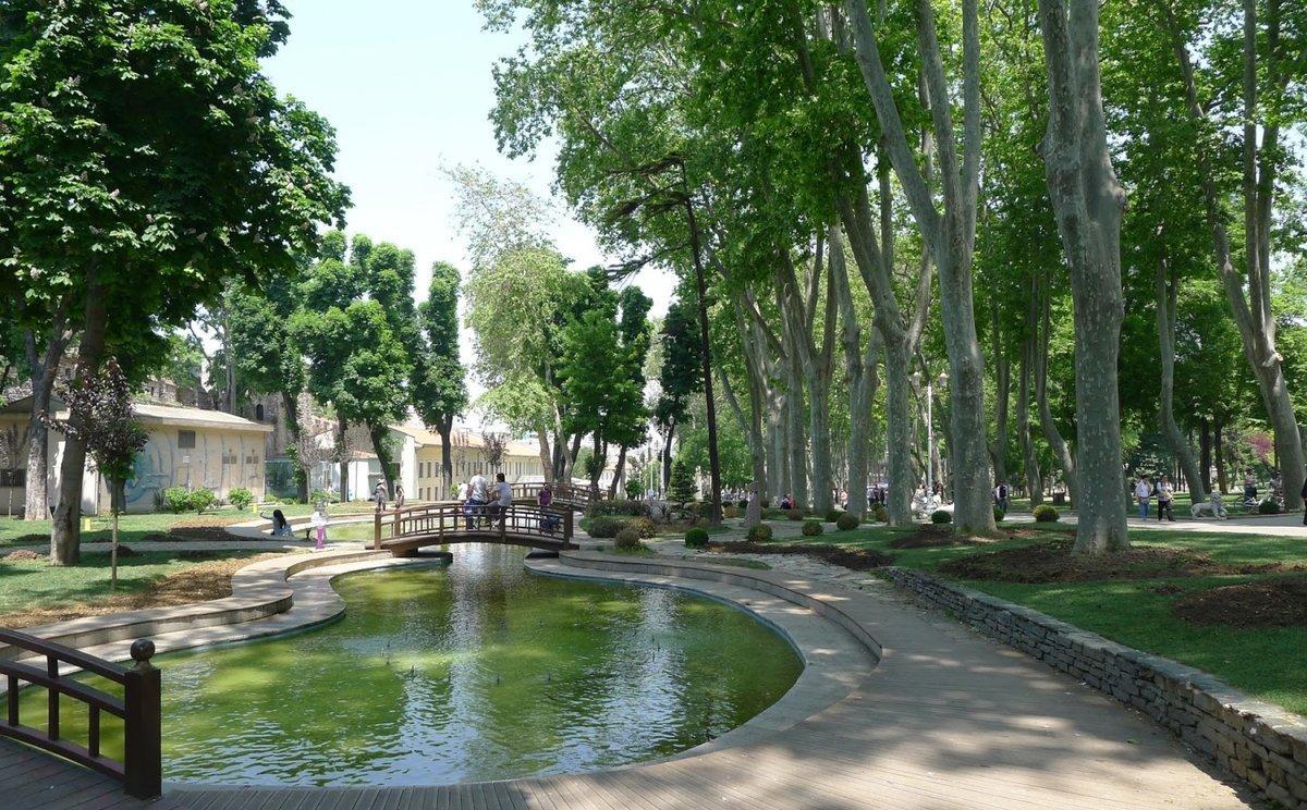 Фото парка Гюльхане