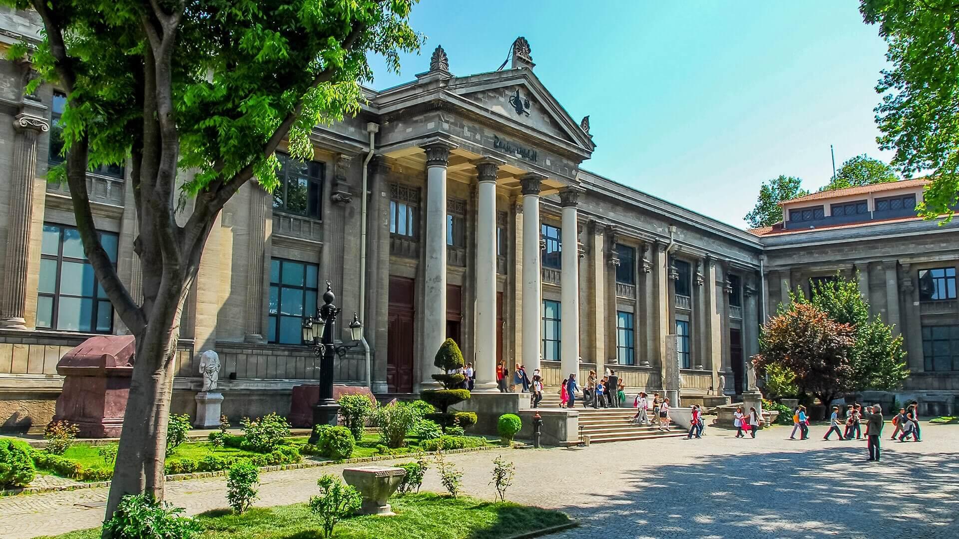 Фото музея археологии