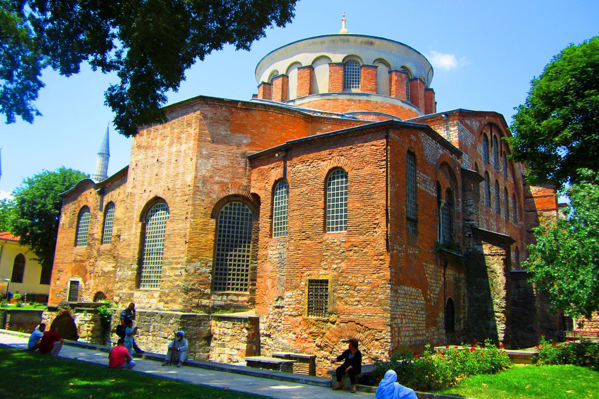 Фото церкви святой Ирины