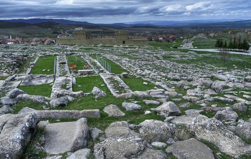 Хатуссас - турецкие руины древнего мира