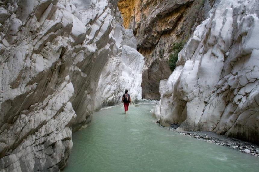 Сакликентское ущелье- самый длинный каньон в Турции