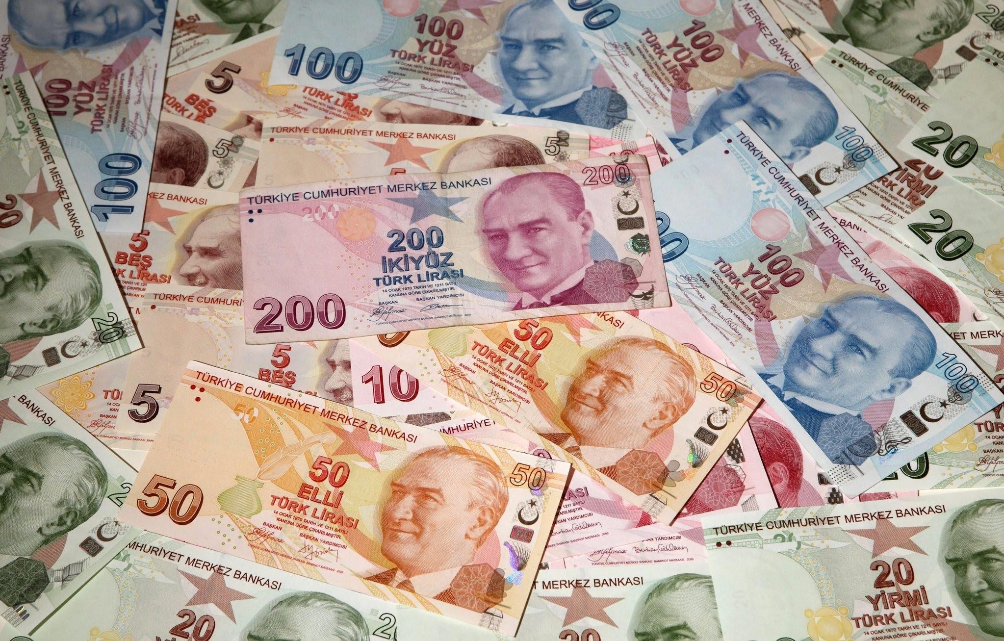 Фото лир в Турции
