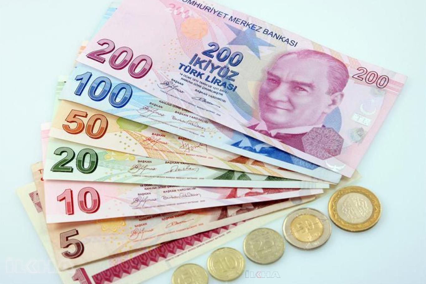 Фото турецких денег