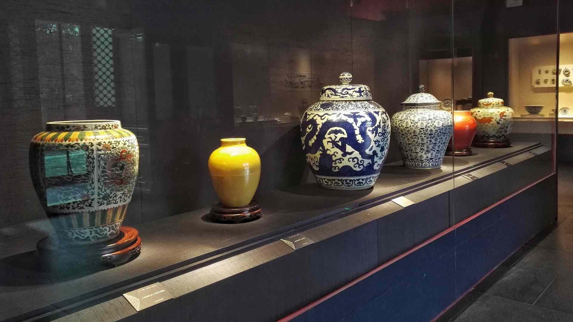 На фото Музей китайского и европейского фарфора