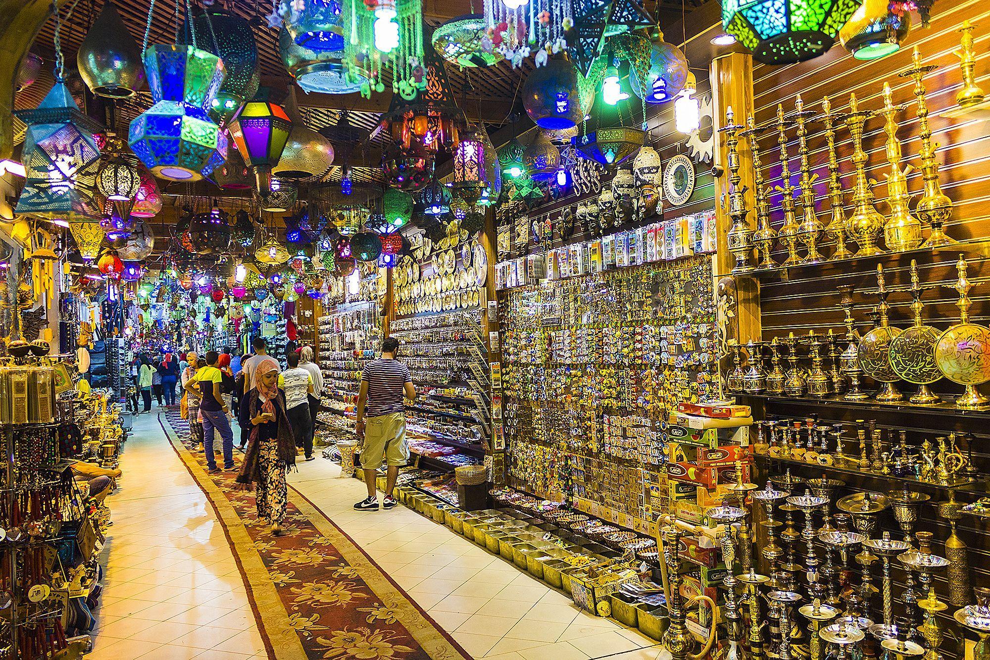 Сувенирные магазины в Турции и Египте