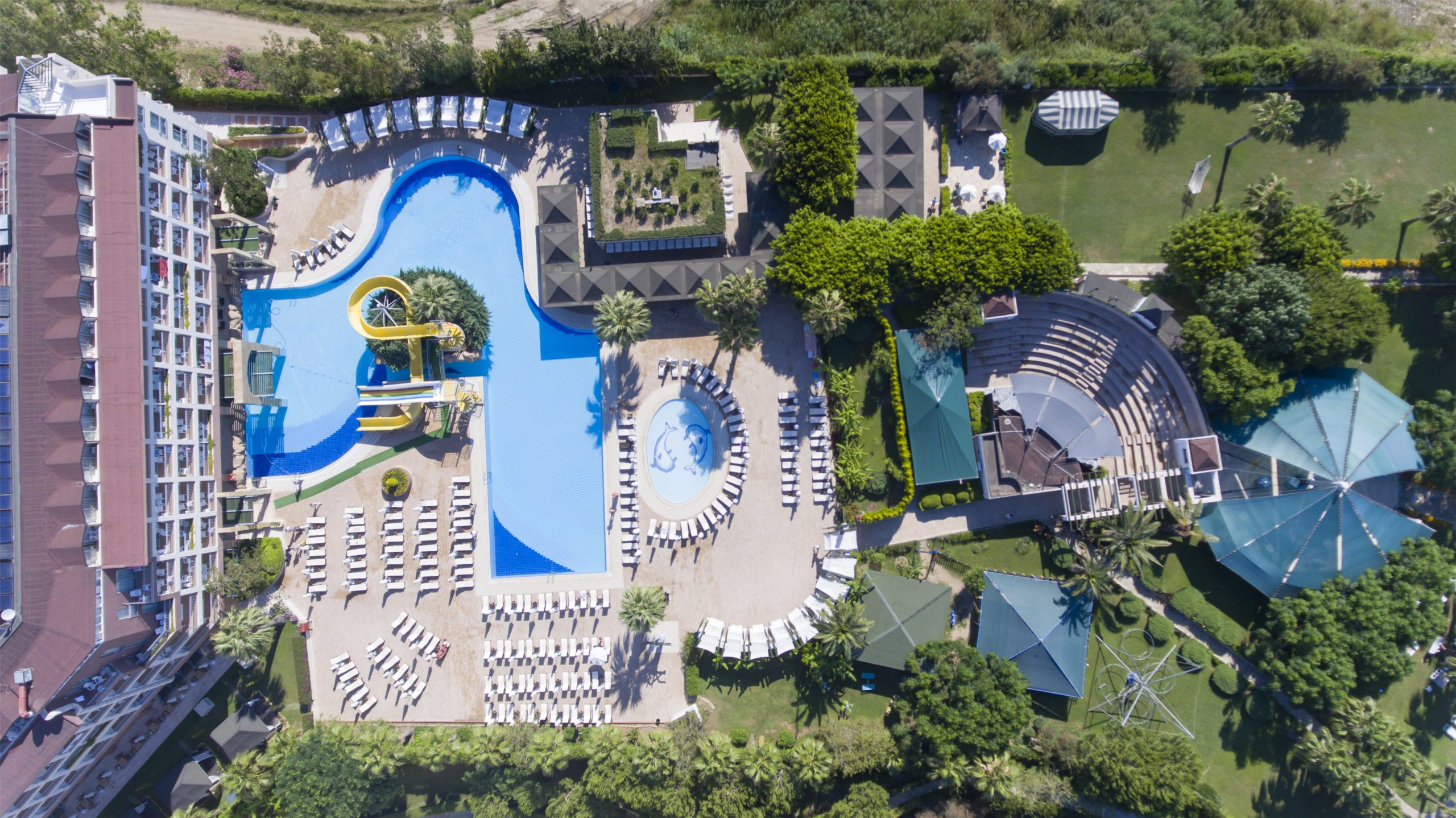 На фото отель Washington Resort & SPA