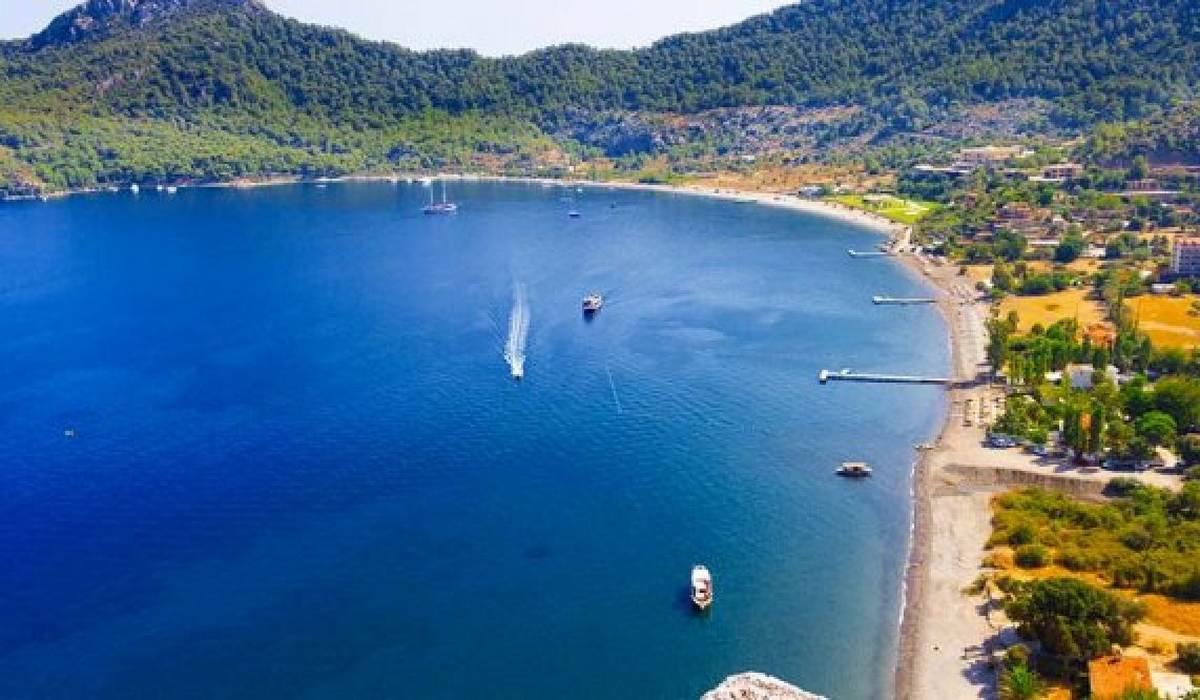 Пляж Амос в Турции