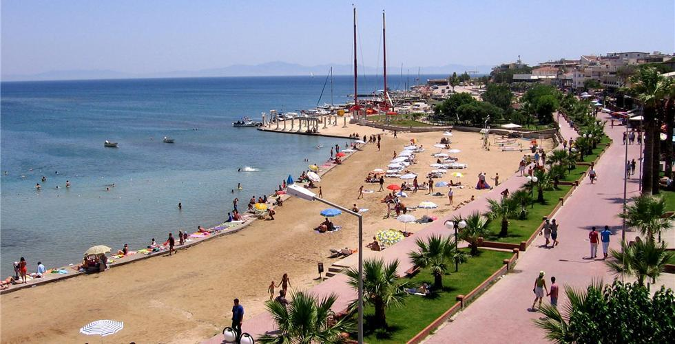 Пляж Алтынкум Турция