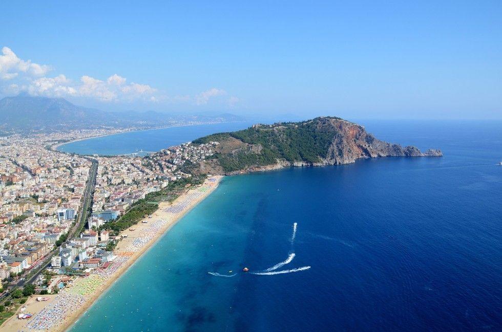 Лучшие пляжи Турции, Клеопатра