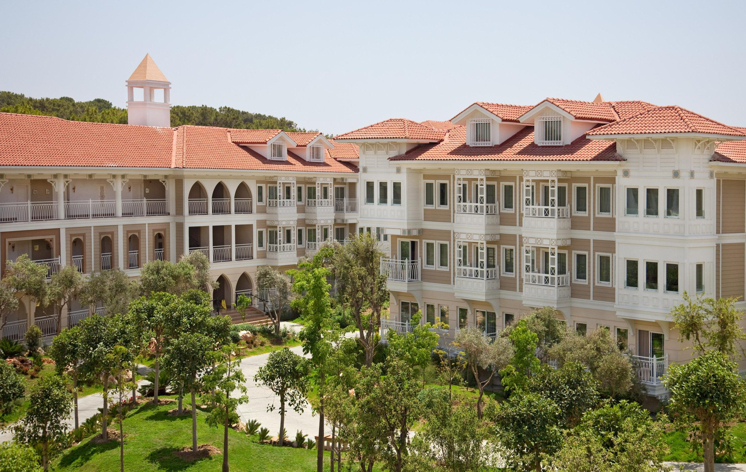 На фото отель Ali Bey Resort Side