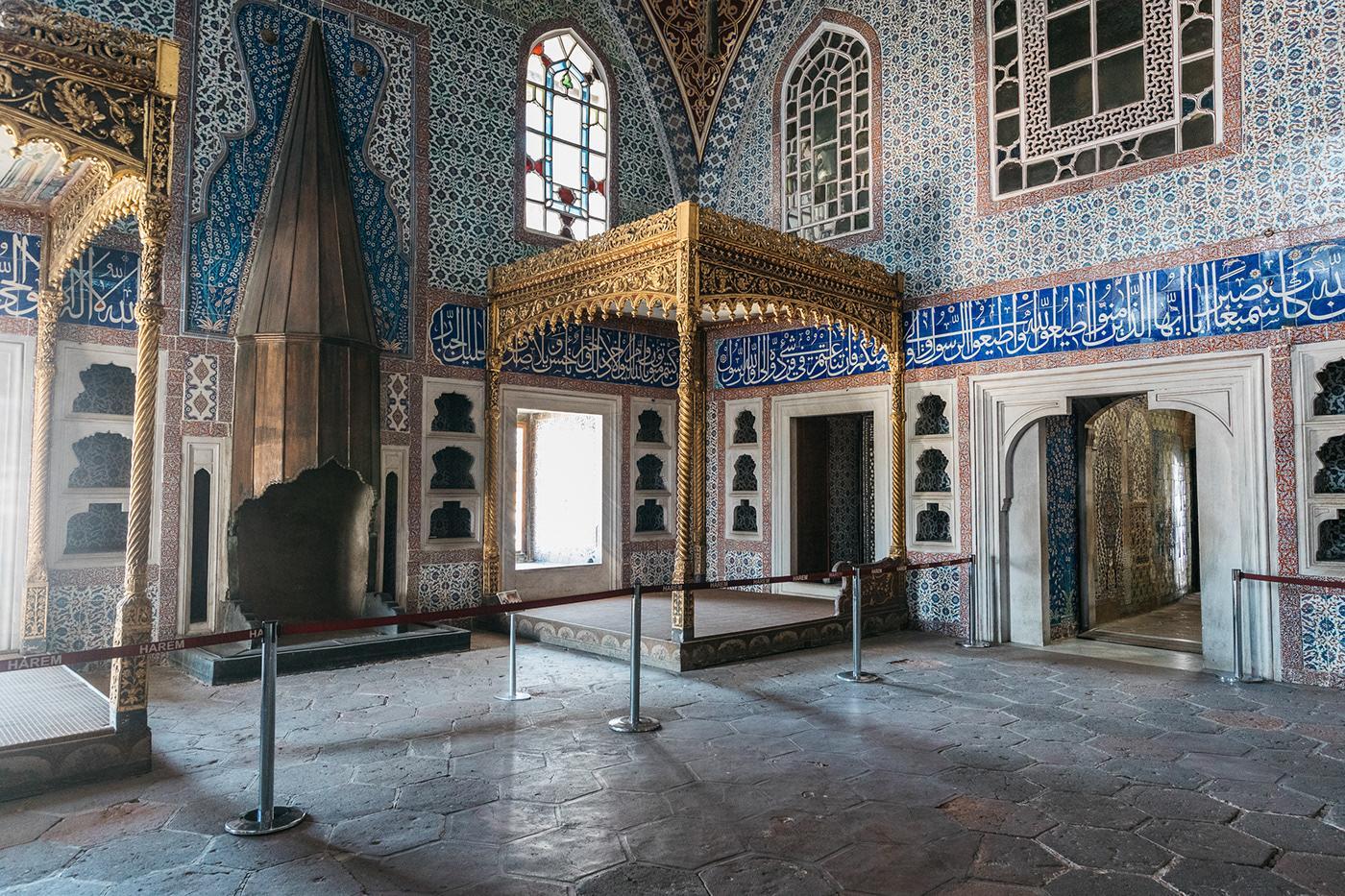 Где находится дворец Топканы