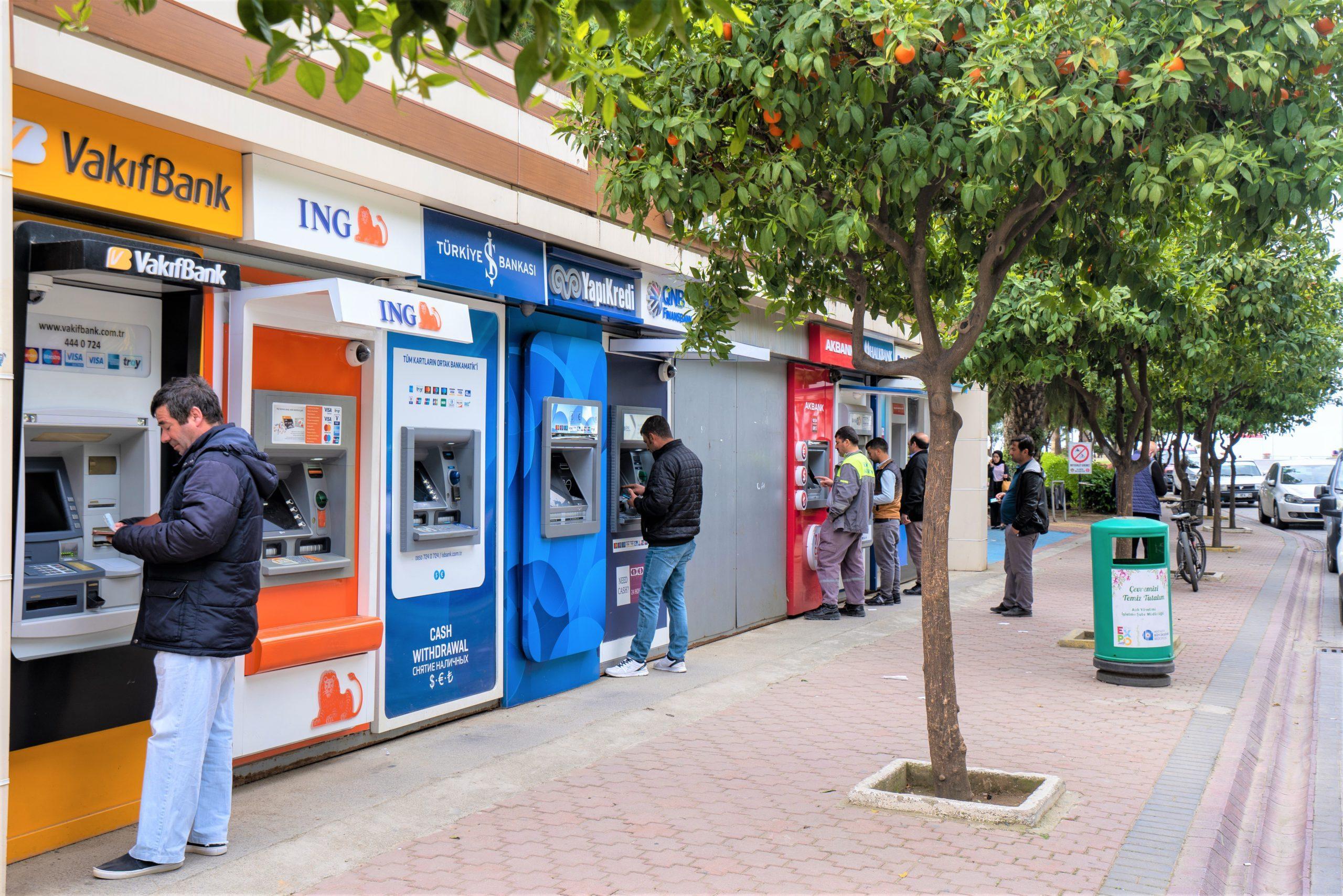 Банкоматы в Турции