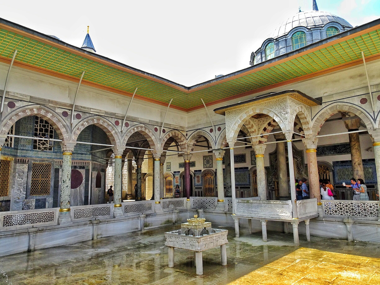 Музейные объекты дворца Топканы