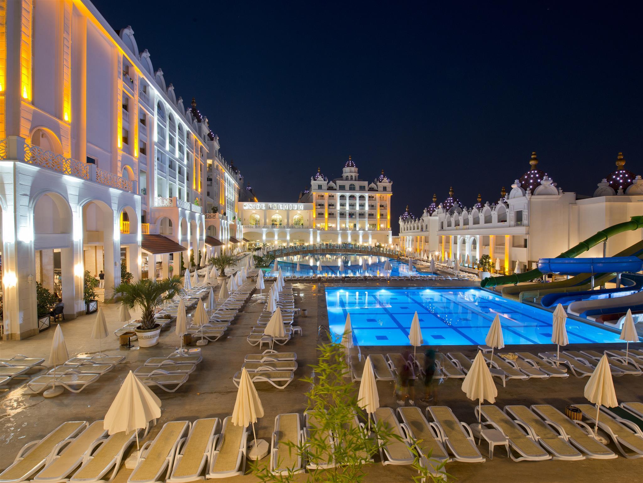 На фото отель Oz Hotels Side Premium