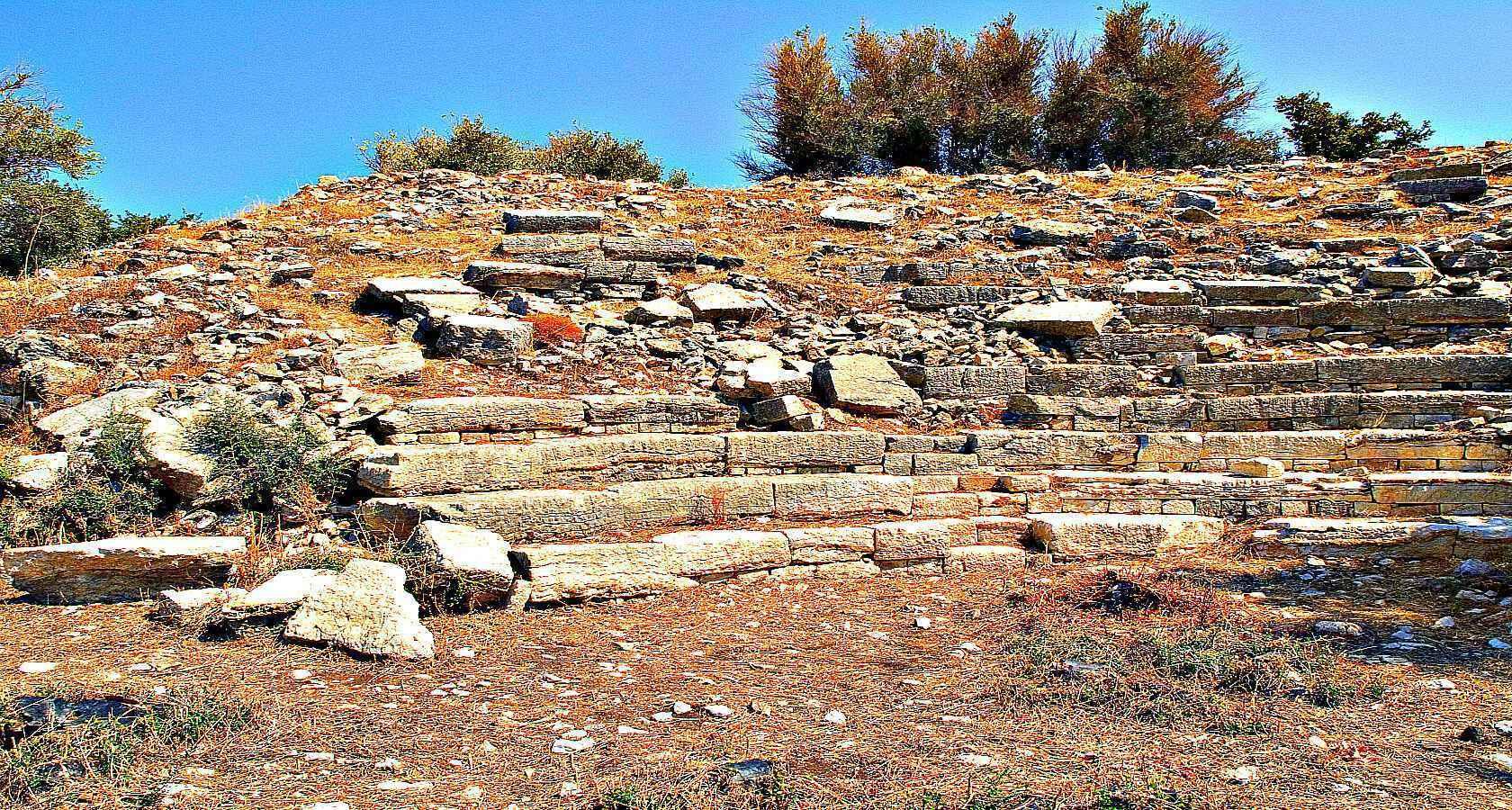 Так выглядит Античный город Амос