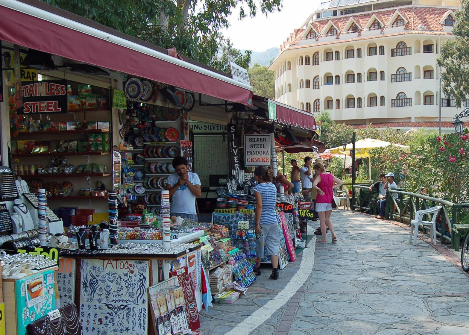 Рынок на курорте