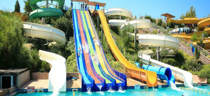 В каких отелях Мармариса есть аквапарк