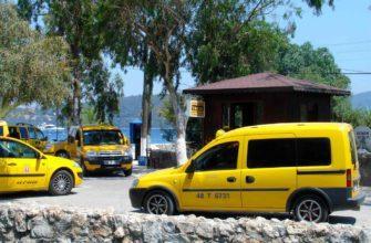 Заказ и стоимость такси в Анталии