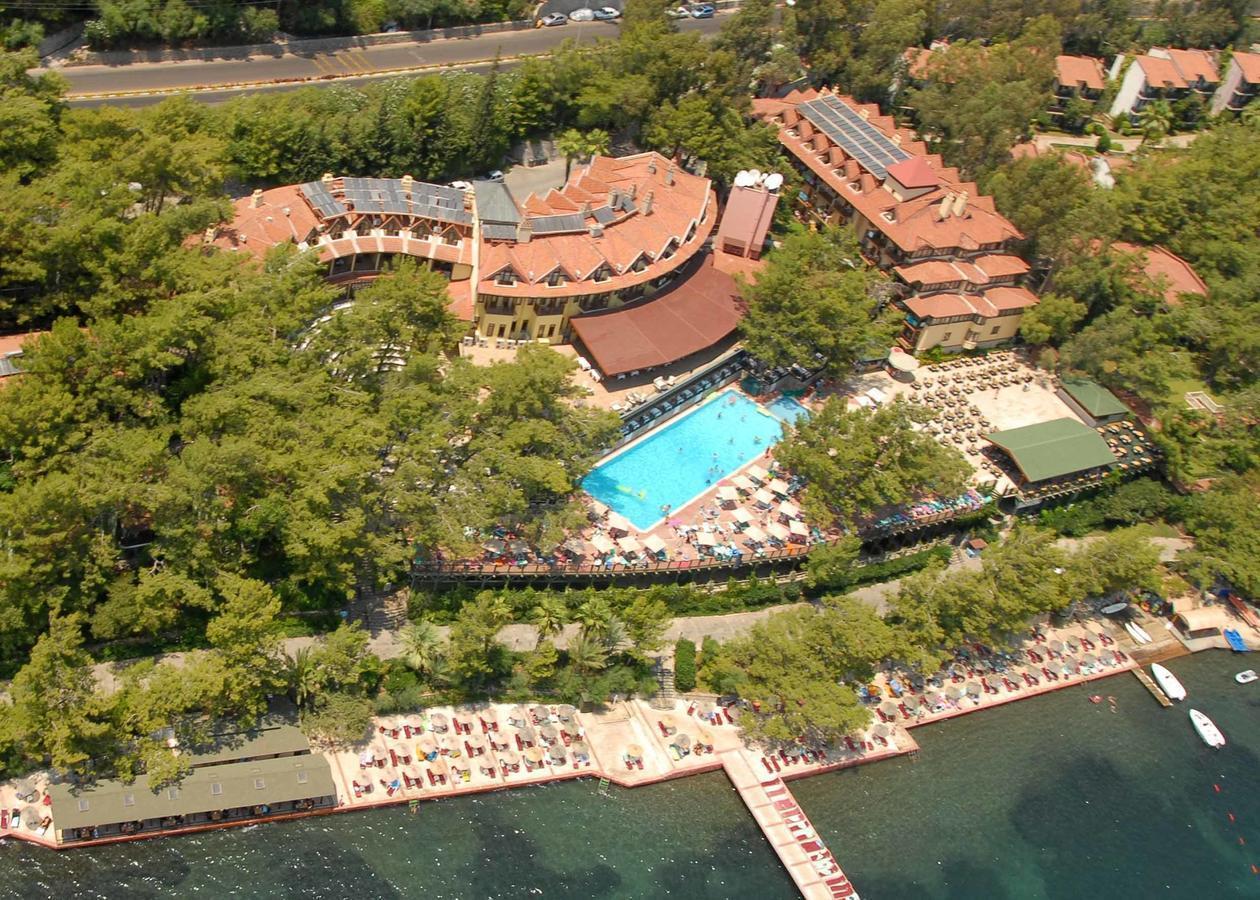 На фото отель Marmaris Park Hotel 4*