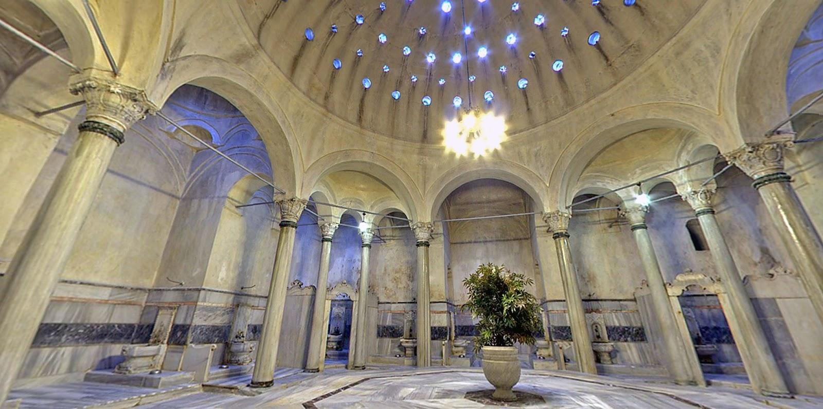 Знаменитые бани Турции