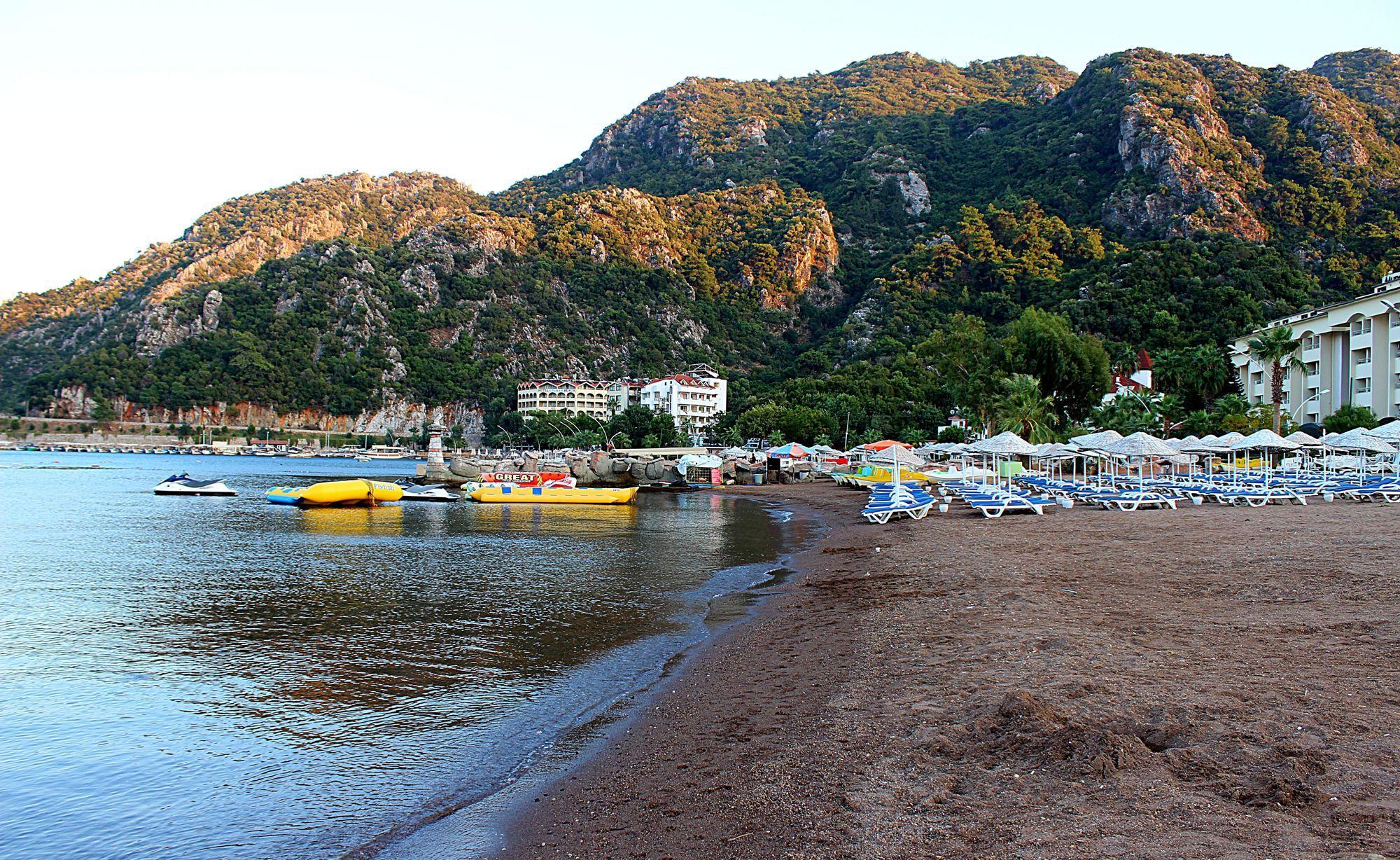 Пляжный отдых на курорте