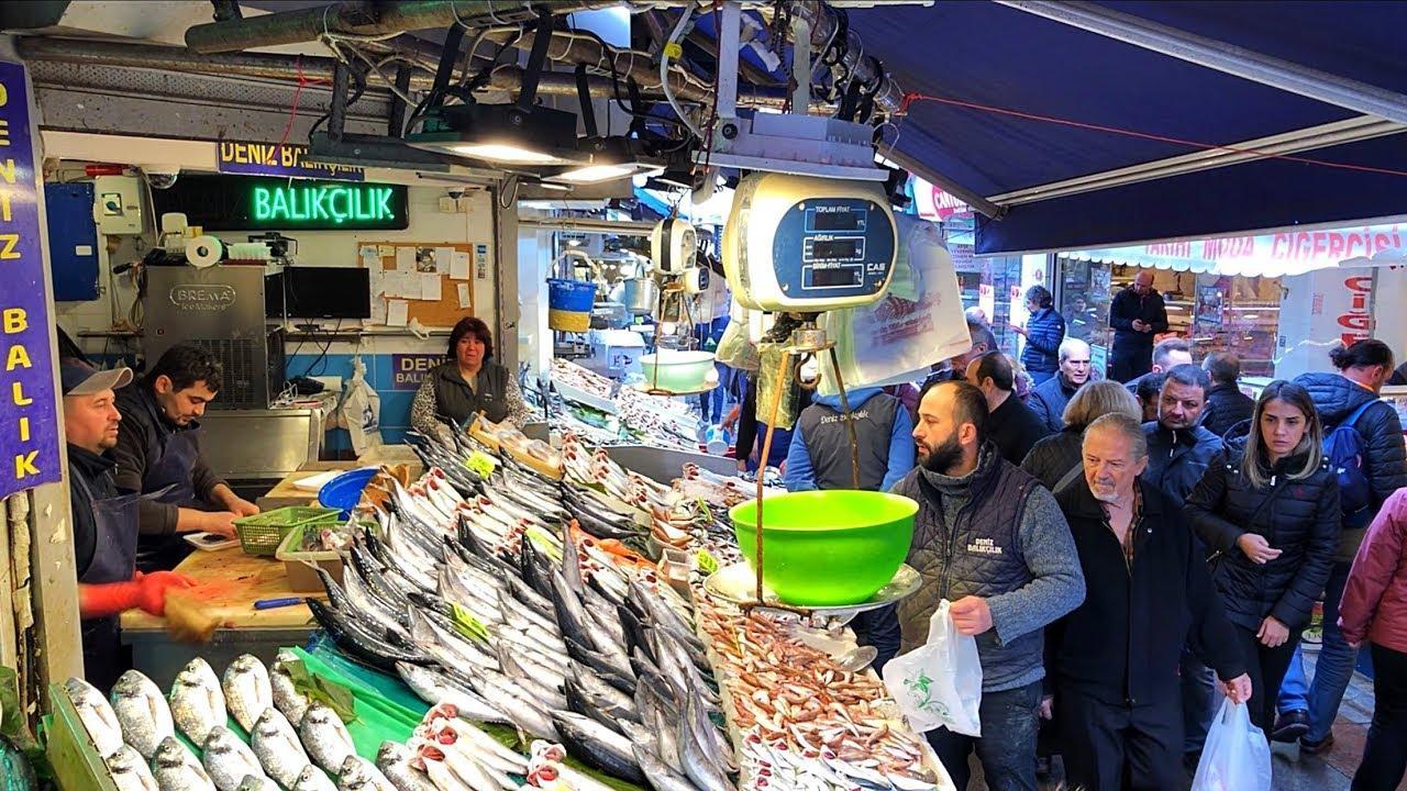 Kadıköy Market - очаровательный исторический рынок Кадикой