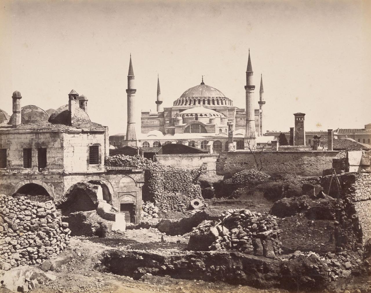 Старые фотографии Стамбула