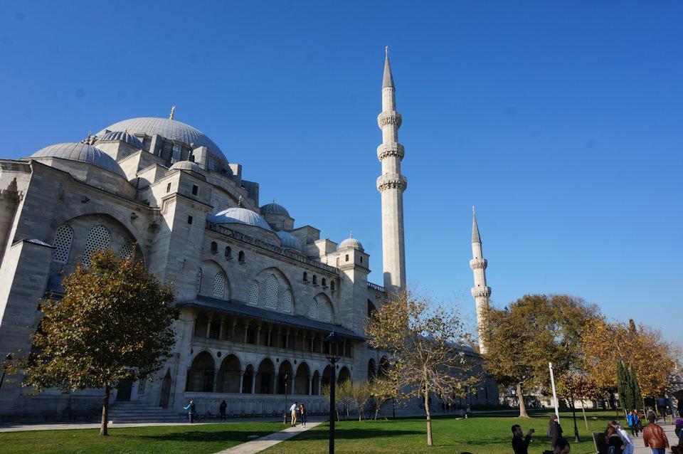 Мечеть Сулеймания в Турции, Стамбул
